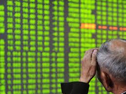 中国股市暴跌  百股跌停 沪指跌穿3000点
