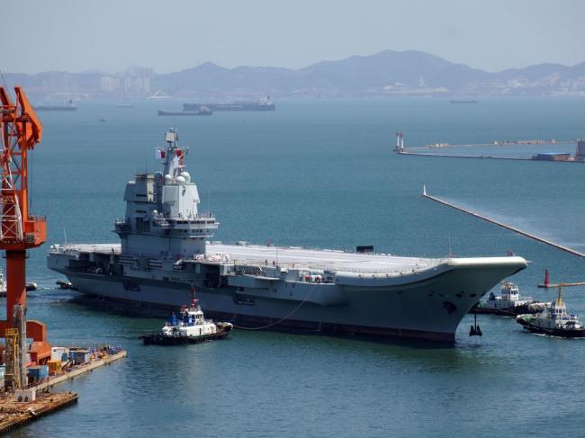 传中国首艘航母改造数据被出卖给美国