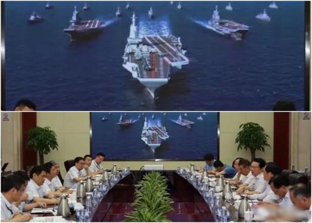 弹射型中国航母官方效果图  首次曝光