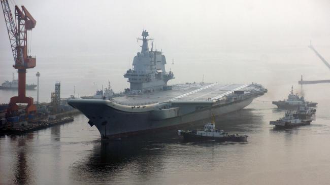 中国首艘国产航母质量好   提前首航
