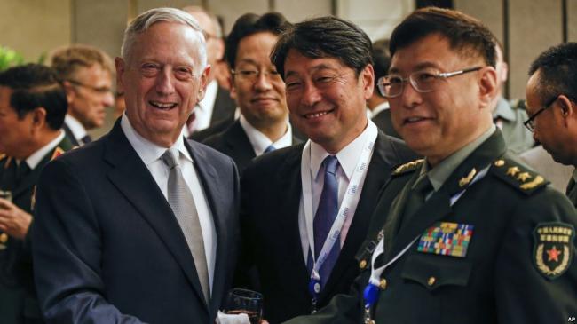 美国国防部长马蒂斯将访中国 这次是为..