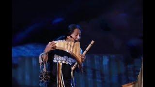 震撼!土著民乐手排箫:月亮代表我的心(视频)