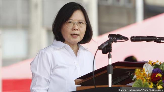 蔡英文呼吁国际社会 团结起来制约中国