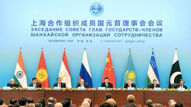 中国在上合组织玩什么牌?