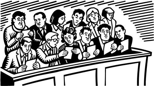收到法院要我候选陪审员的传票之后