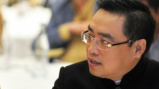 中国海航集团董事长王建生前照片(法新社)