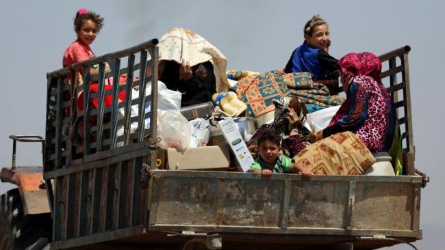 叙利亚停火   数万难民踏上回家路
