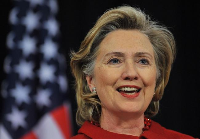希拉里动作频频  被预测她将再拼2020