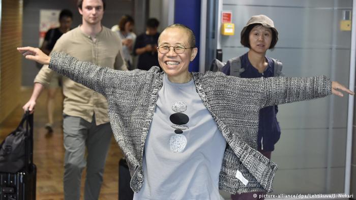 刘霞毋须申请庇护 可在德自由工作生活