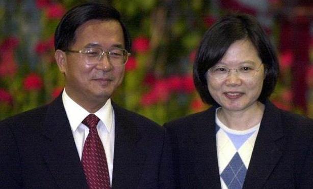 陈水扁向蔡英文下战书 看你敢不敢抓!