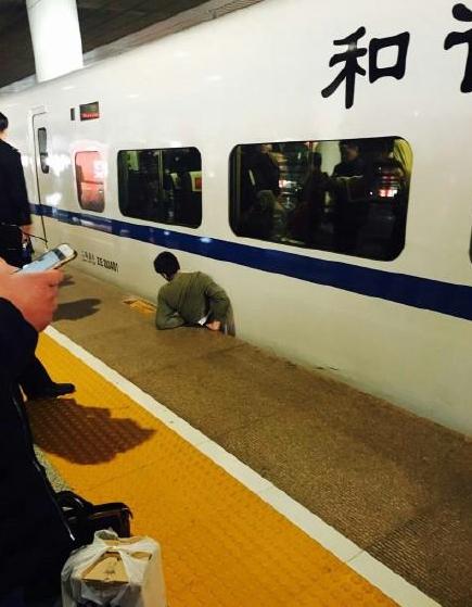 男子翻站台被高铁挤死  索赔80万遭驳回