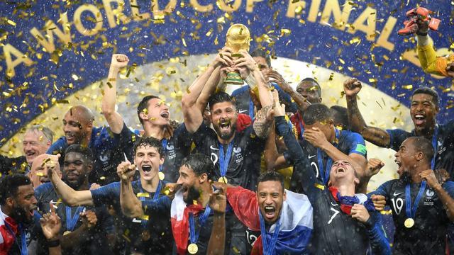 """15名球员有非洲血统 戏称""""法国非洲""""队"""