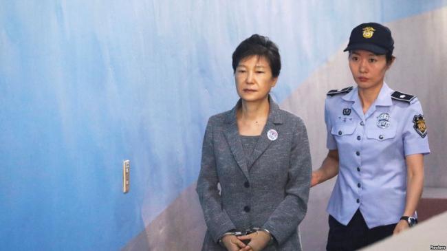 韩国前总统朴槿惠再被判8年徒刑
