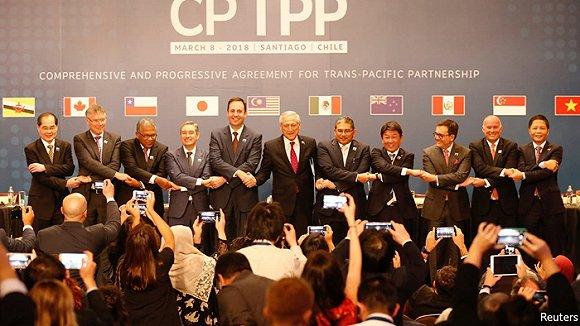 没有美国TPP也要扩容 英韩泰要求加入