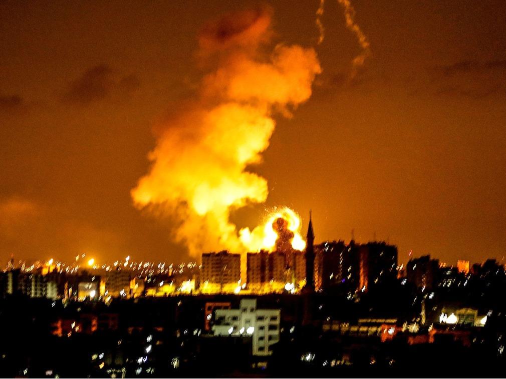 失控!以色列对加沙地带发起大规模进攻