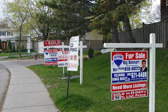 人民币贬值 中国人海外买房首选加拿大
