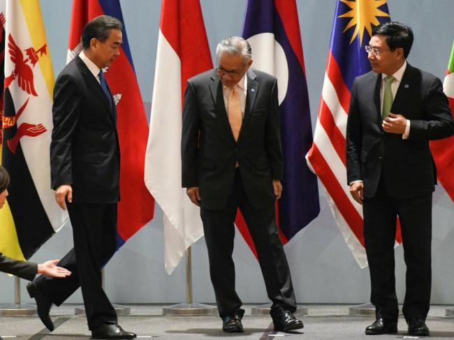南海行为准则曝光 中国提议均排除美国