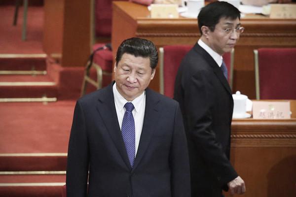 传习近平王沪宁被迫检讨  王前途不妙