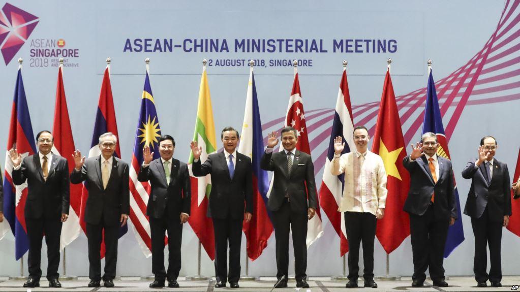 中国东盟虽达草案 南中国海谈判仍未知
