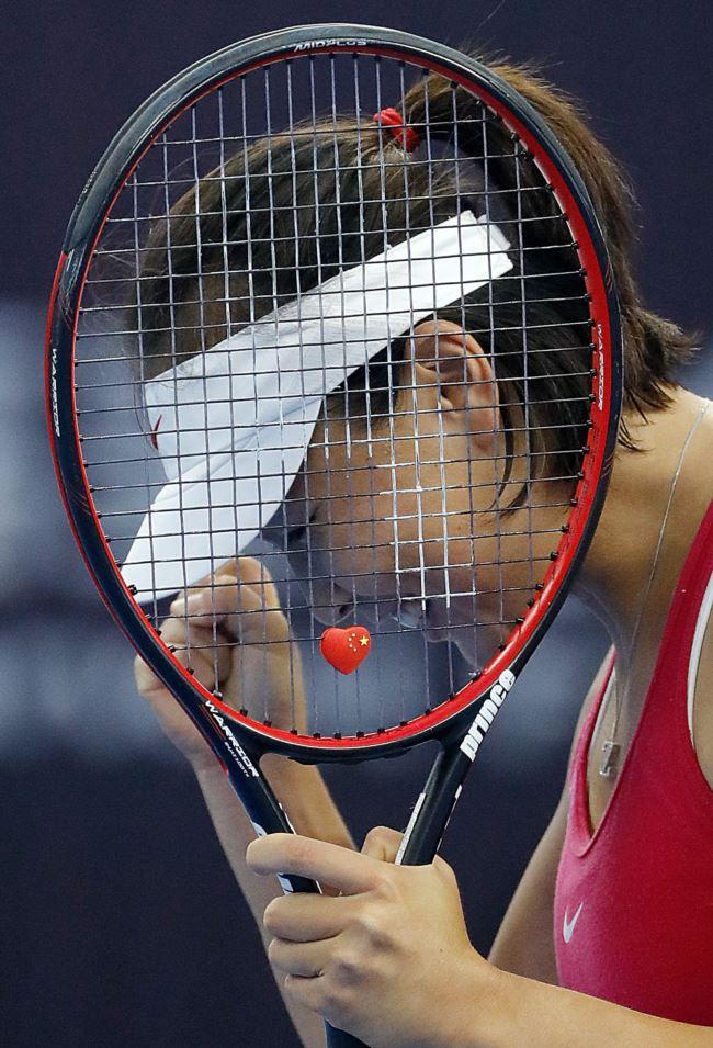 中国网球名将彭帅