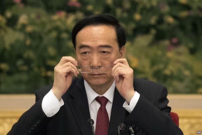 美参议员吁美国制裁新疆党委书记陈全国