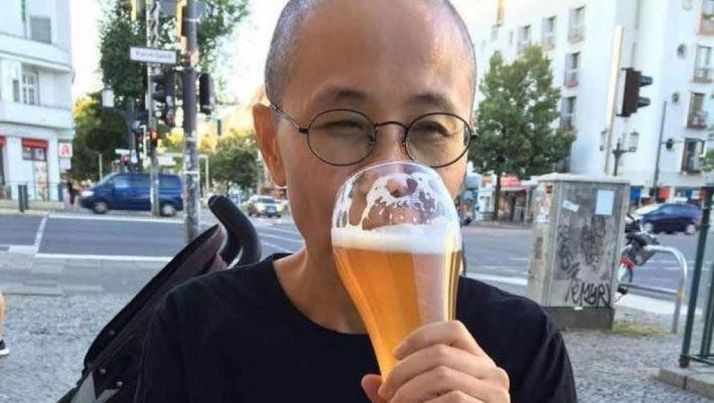 刘霞晒照片 开启柏林低调生活