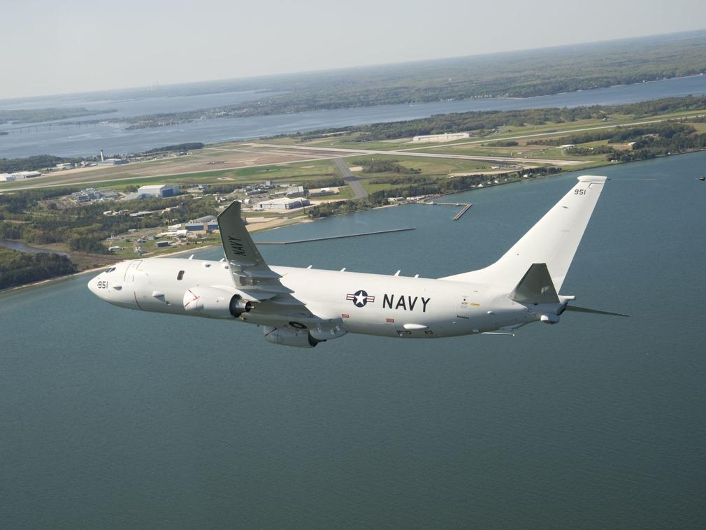 美侦察机飞行南海 中美双方喊话