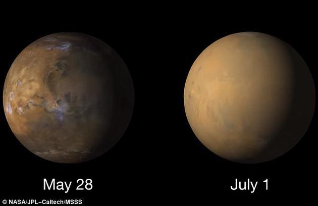 机遇号遇火星尘暴失联两个月 仍没消息