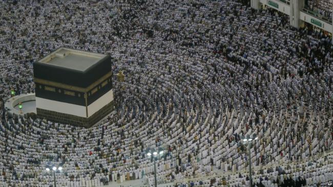2百万穆斯林开始一年一度麦加朝圣
