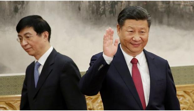 意识形态换将 王沪宁大权旁落被架空