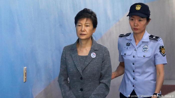 韩国前总统朴槿惠涉贪 二审重判25年