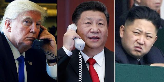 川普:中国造成美朝问题更加困难
