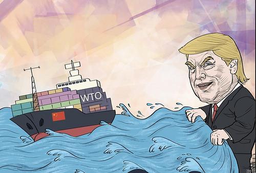 一旦美国真的退出WTO 将引发连锁反应