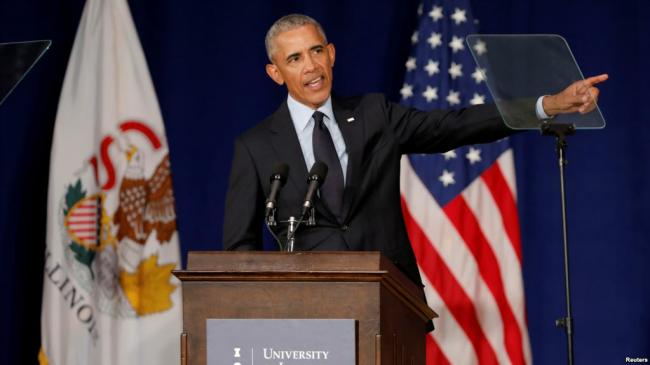 """""""民主靠它"""" 奥巴马呼吁中期选举投票"""