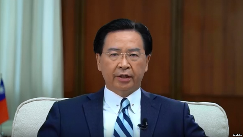 """台外长:世界急需面对的是""""中国问题"""""""