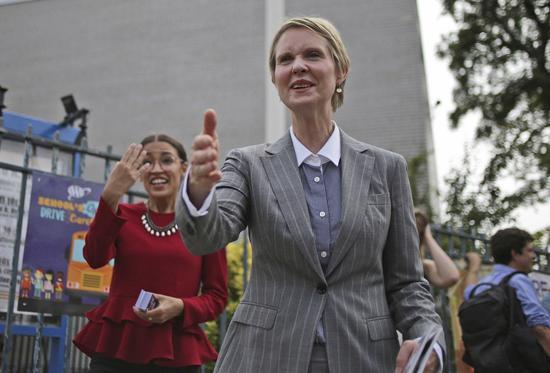 民主党初选 欲望都市女星挑战纽约州长