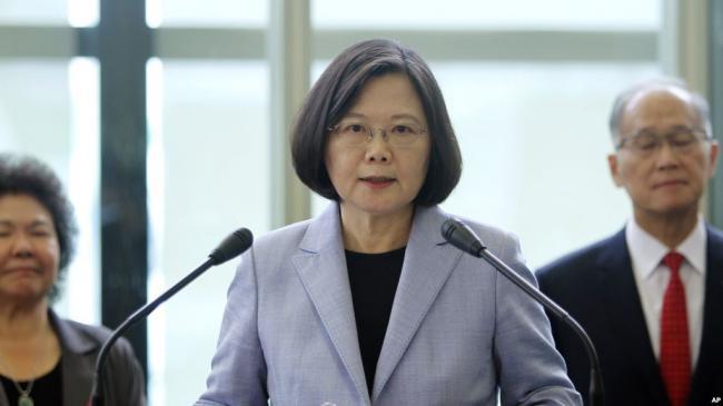 中国 蔡英文总统批中国散布假新闻
