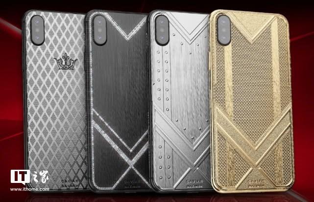 惊呆 纯金版iPhone XS Max卖1.5万美元