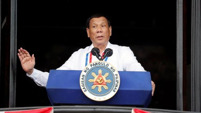 杜特尔特称中国大使与可疑毒枭有勾连