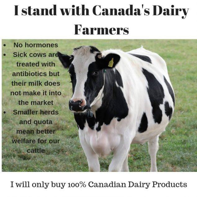 政府让步民众抵抗 加美牛奶大战仍未结束