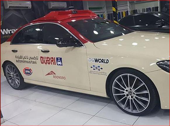 无人驾驶出租服务正式上线迪拜
