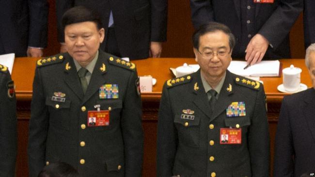 两中共将领涉腐败被开除党籍 一名自杀