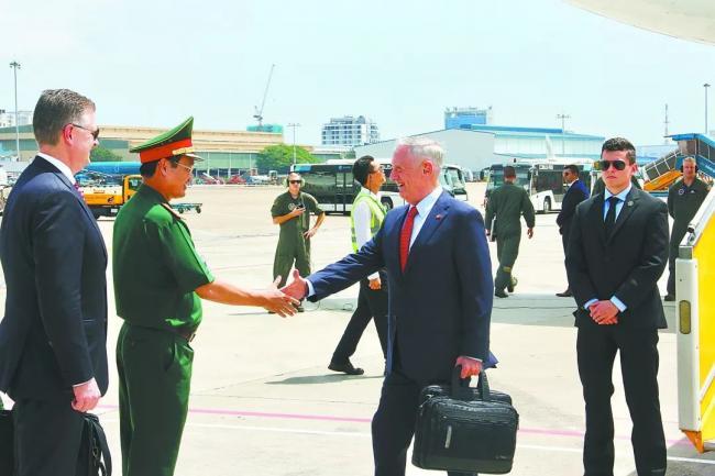 马蒂斯访越 抬高越南抗衡中国