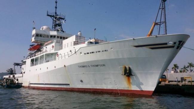 美军船只停靠高雄港不简单?台军方回应
