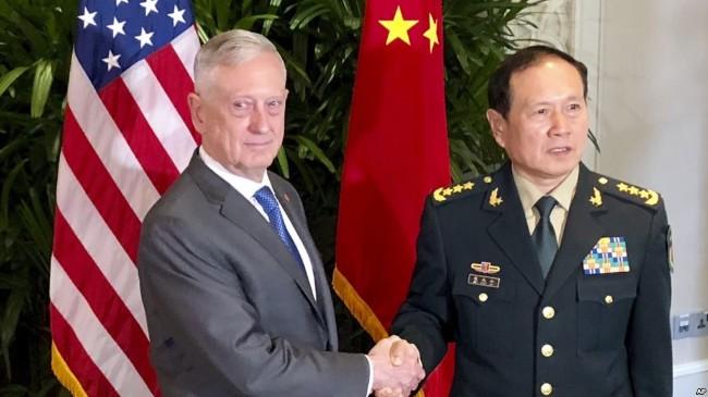 美国或派至少2艘战舰穿越台湾海峡