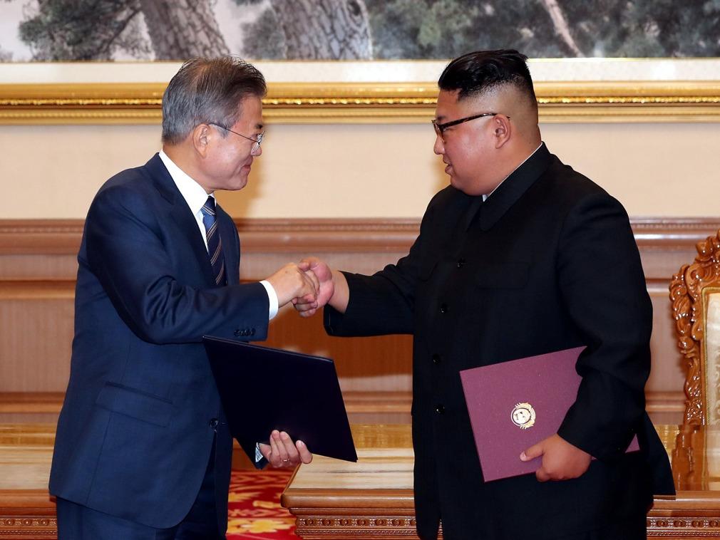 文在寅被批 韩政府澄清:朝鲜不是国家