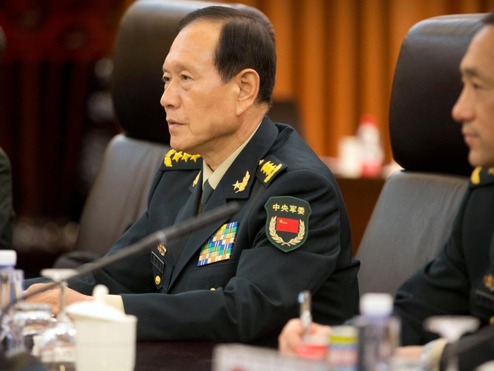 中防长强硬表态 打击台独中国绝不手软