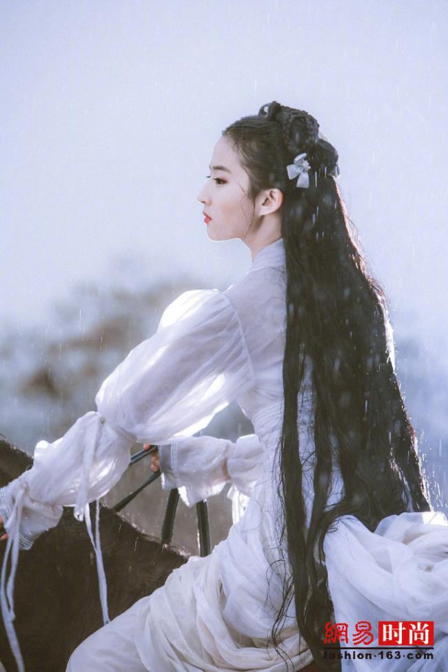 倾城倾国小龙女 刘亦菲早年造型太仙