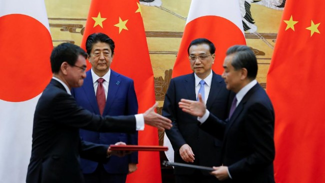 日本要求中国  撤除钓鱼岛周边浮标