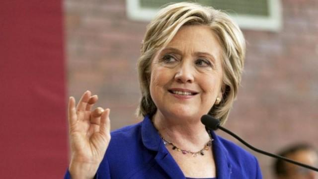 """希拉里下届参加竞选? """"我还想做总统"""""""